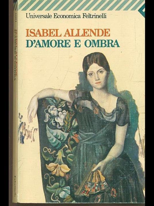 D'amore e ombra - Isabel Allende - copertina