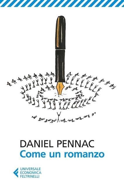 Come un romanzo - Daniel Pennac - copertina