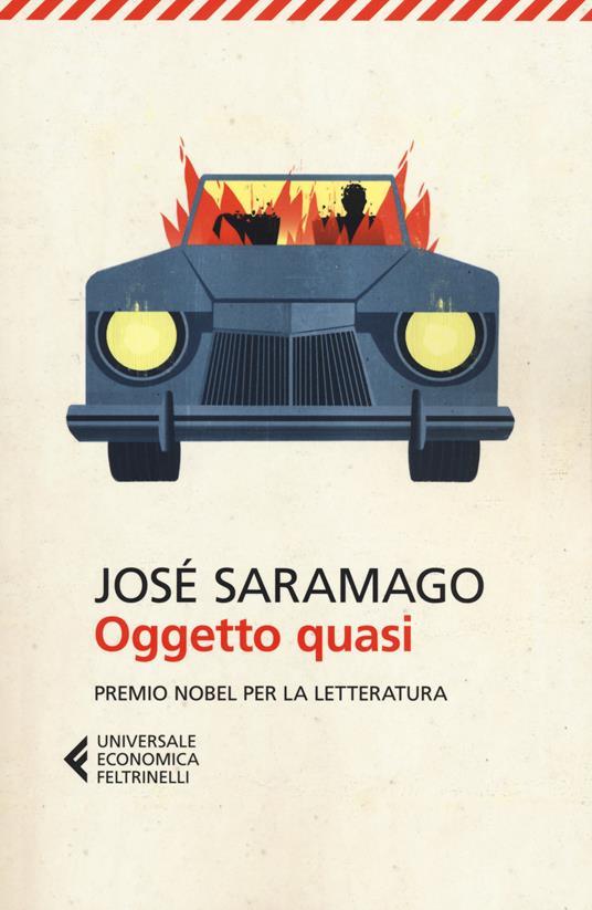 Oggetto quasi - José Saramago - copertina