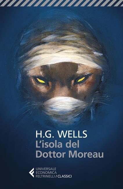 L' isola del dottor Moreau - Herbert George Wells - copertina