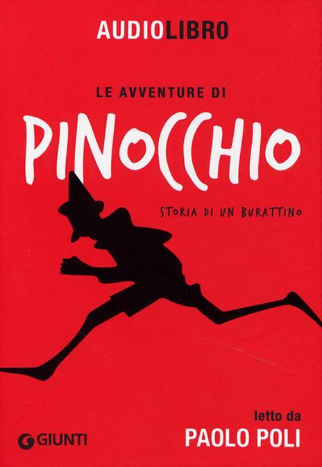 Le avventure di Pinocchio. Storia di un burattino letto da Paolo Poli. Con CD Audio formato MP3 - Carlo Collodi - copertina