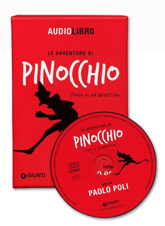 Le avventure di Pinocchio. Storia di un burattino letto da Paolo Poli. Con CD Audio formato MP3 - Carlo Collodi - 2