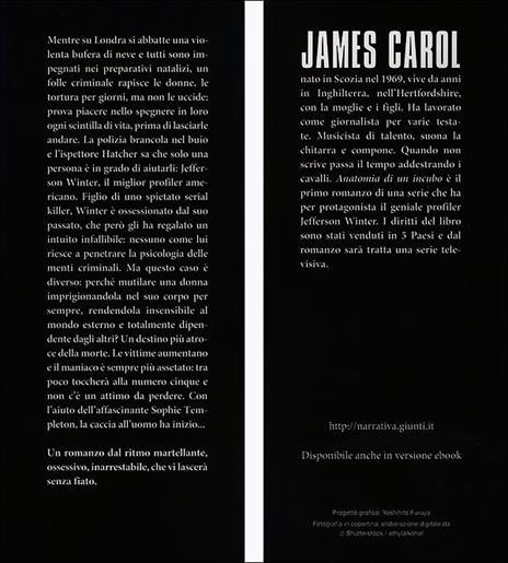 Anatomia di un incubo - James Carol - 7