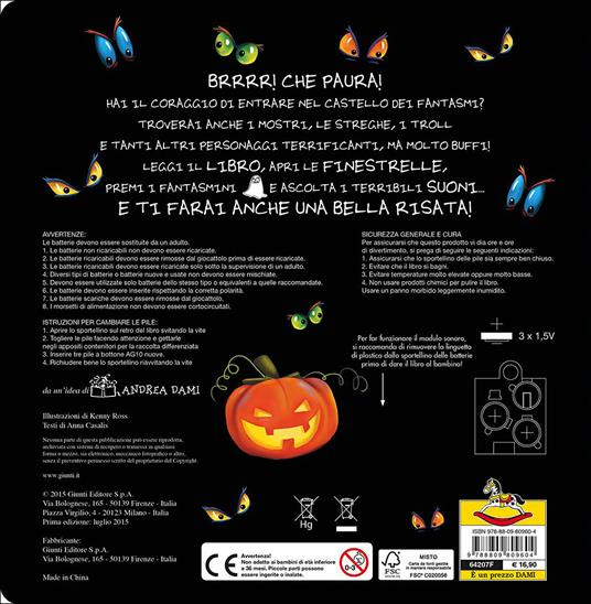 Il castello dei fantasmi - Anna Casalis,Kenny Ross - 2