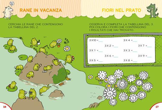 Il gioco segreto per imparare le tabelline. Con Poster - Pietro Sacchelli - 6