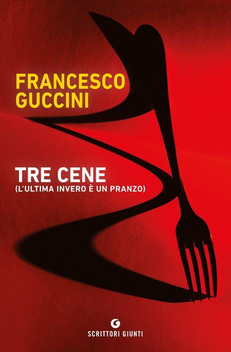 Tre cene (l'ultima invero è un pranzo) - Francesco Guccini - copertina