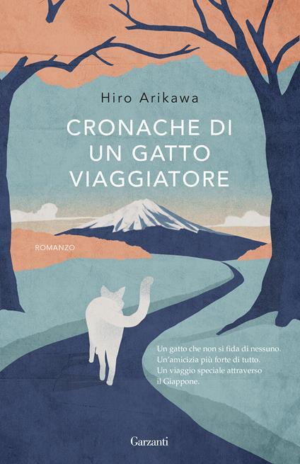Cronache di un gatto viaggiatore - Hiro Arikawa - copertina
