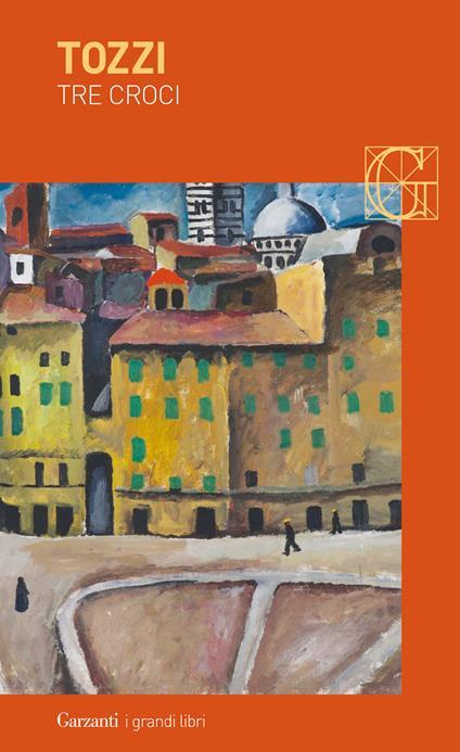 Tre croci - Federigo Tozzi - copertina