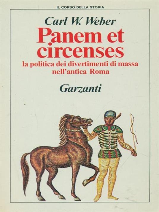 Panem et circenses - Carl Maria von Weber - copertina