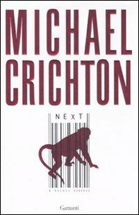 Next - Michael Crichton - copertina