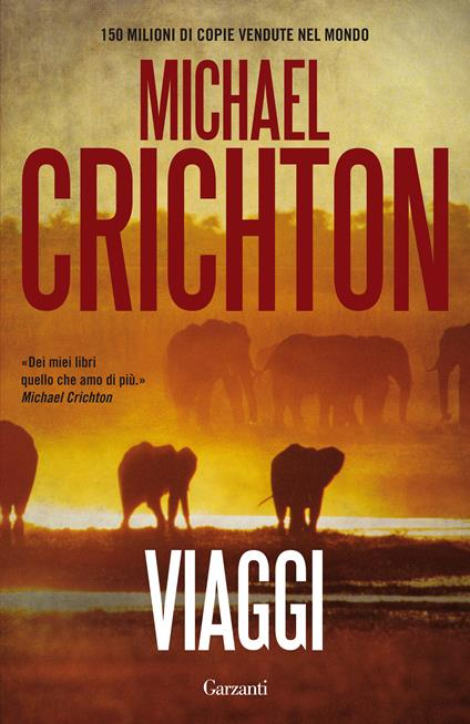 Viaggi - Michael Crichton - copertina