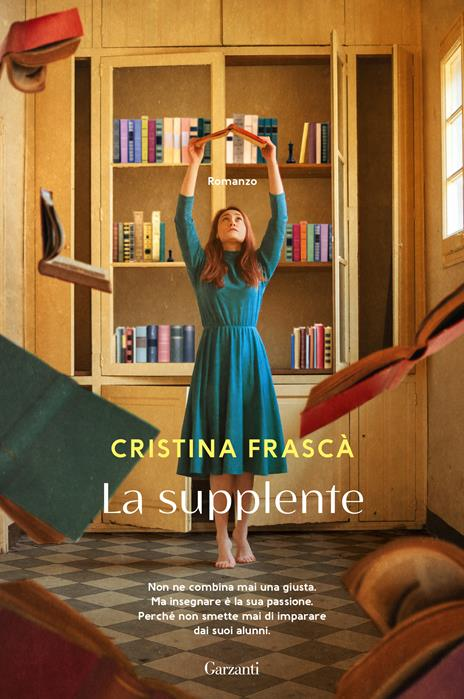 La supplente - Cristina Frascà - copertina