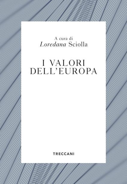 I valori dell'Europa - copertina