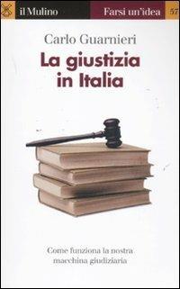 La giustizia in Italia - Carlo Guarnieri - copertina