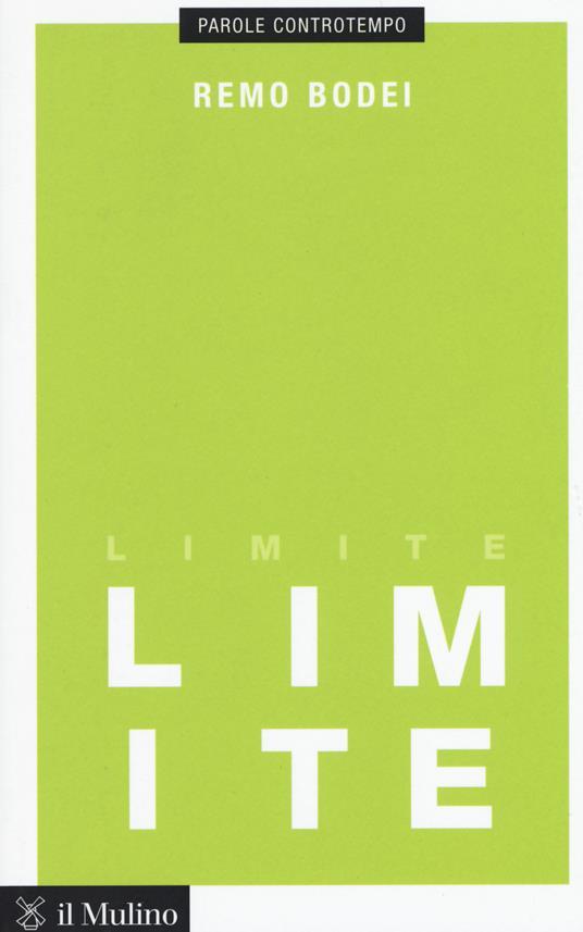 Limite - Remo Bodei - copertina