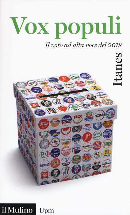 Vox populi. Il voto ad alta voce del 2018 - copertina