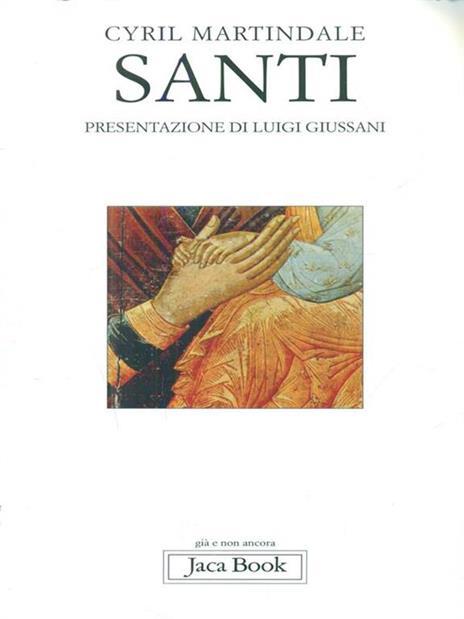 Santi - Cyril Charles Martindale - copertina