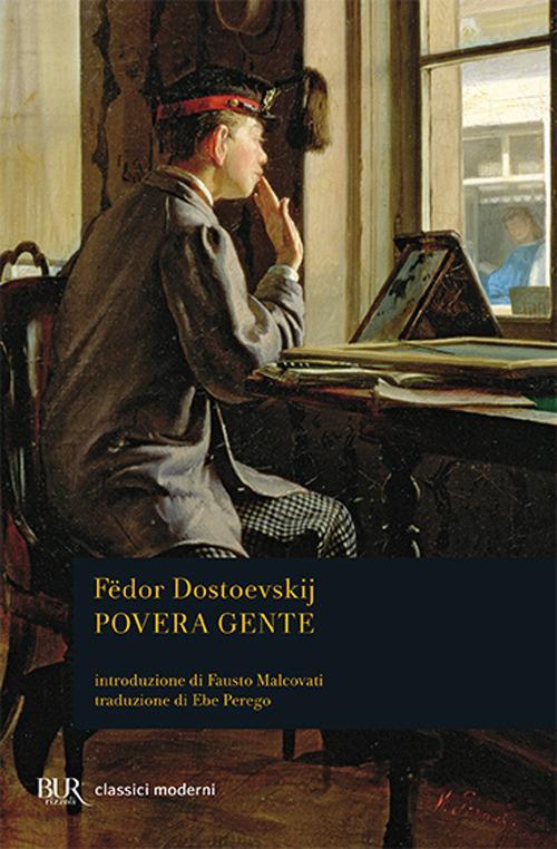 Povera gente - Fëdor Dostoevskij - copertina