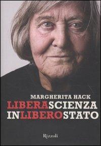 Libera scienza in libero stato - Margherita Hack - copertina
