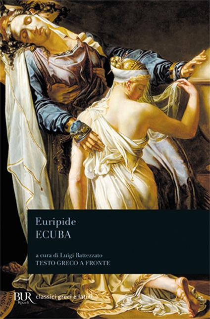 Ecuba. Testo greco a fronte - Euripide - copertina