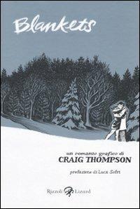 Blankets - Craig Thompson - copertina