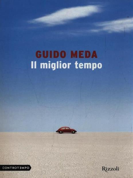 Il miglior tempo - Guido Meda - copertina
