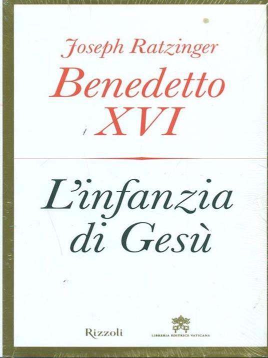 L' infanzia di Gesù - Benedetto XVI (Joseph Ratzinger) - copertina