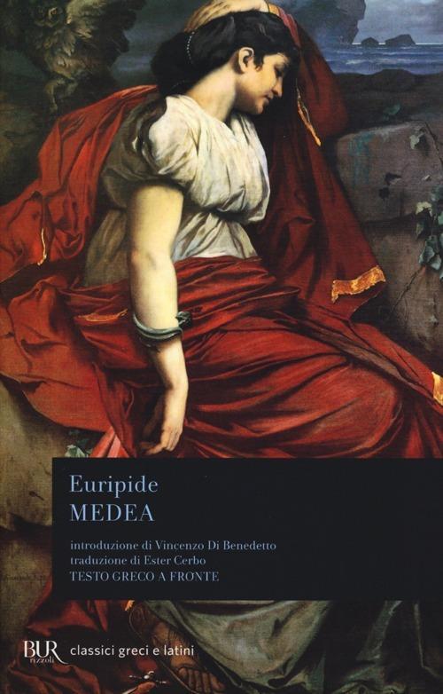 Medea. Testo greco a fronte - Euripide - copertina