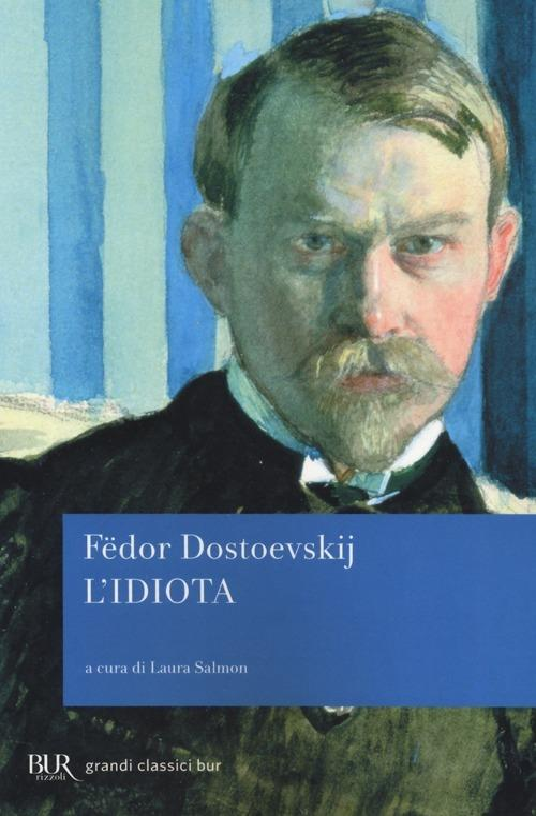 L' idiota - Fëdor Dostoevskij - copertina