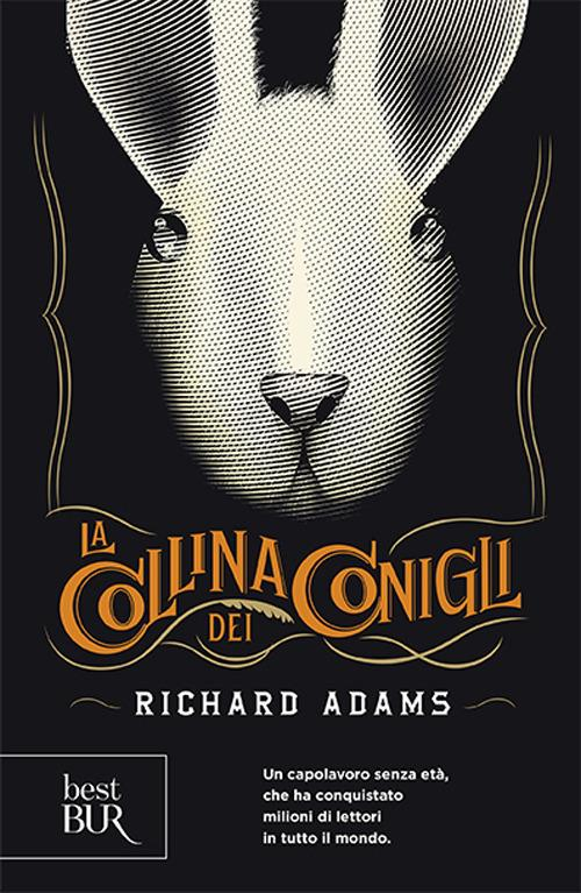 La collina dei conigli - Richard Adams - copertina