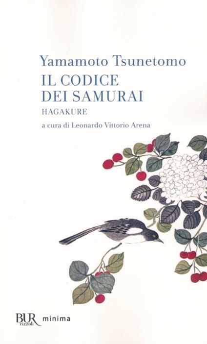 Il codice dei samurai. Hagakure - Yamamoto Tsunetomo - copertina