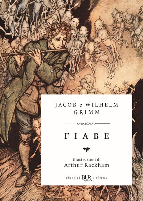 Fiabe - Jacob Grimm,Wilhelm Grimm - copertina