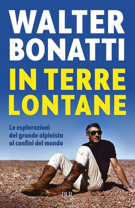In terre lontane - Walter Bonatti - copertina