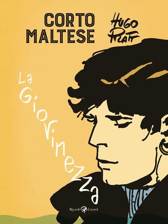 Corto Maltese. La giovinezza - Hugo Pratt - copertina