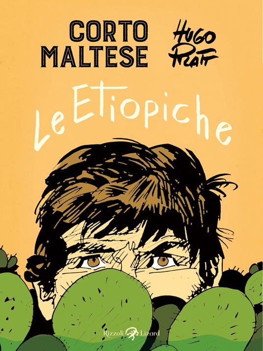 Corto Maltese. Le etiopiche - Hugo Pratt - copertina
