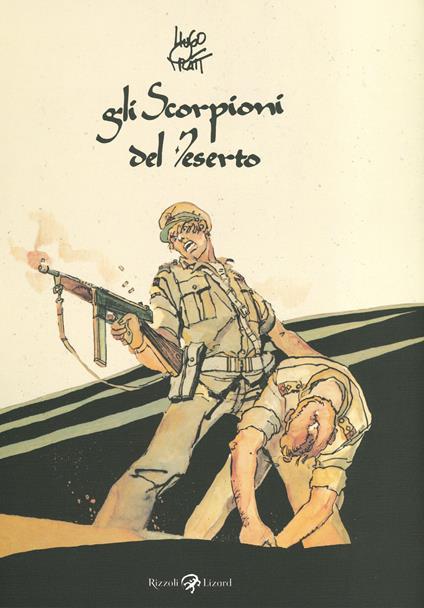 Gli Scorpioni del deserto - Hugo Pratt - copertina