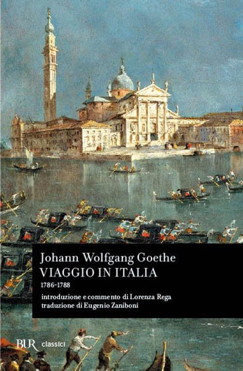 Viaggio in Italia (1786-1788) - Johann Wolfgang Goethe - copertina