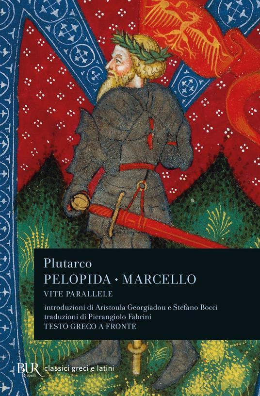 Vite parallele. Pelopida e Marcello - Plutarco - copertina