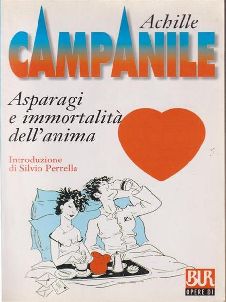 Asparagi e immortalità dell'anima - Achille Campanile - copertina
