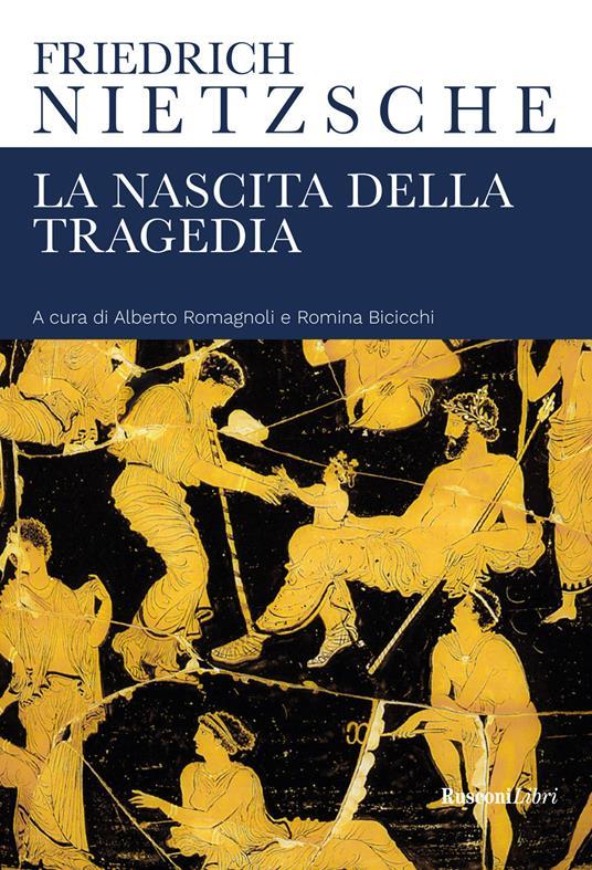 La nascita della tragedia - Friedrich Nietzsche - copertina