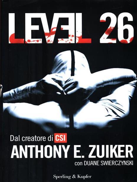 Level 26. Vol. 1 - Anthony E. Zuiker - copertina