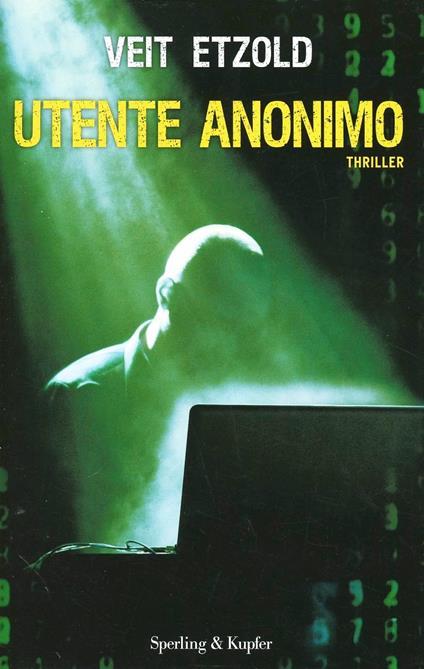 Utente anonimo - Veit Etzold - copertina