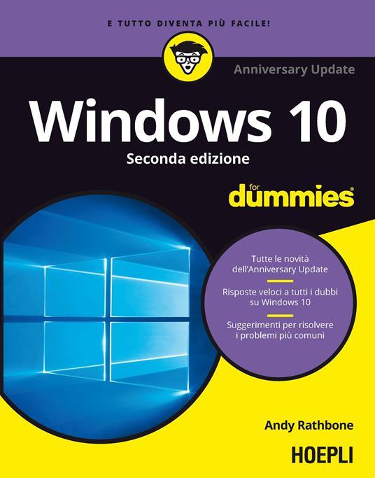 Windows 10. Anniversary update - Andy Rathbone - copertina