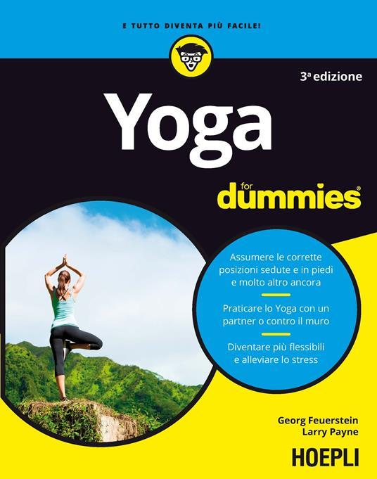Yoga for dummies - Georg Feuerstein,Larry Payne - copertina