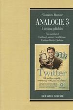 Analogie. Il medium pubblicità. Vol. 3