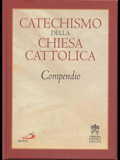 Catechismo della Chiesa cattolica. Compendio - copertina