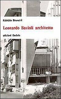 Leonardo Savioli architetto - Fabrizio Brunetti - copertina