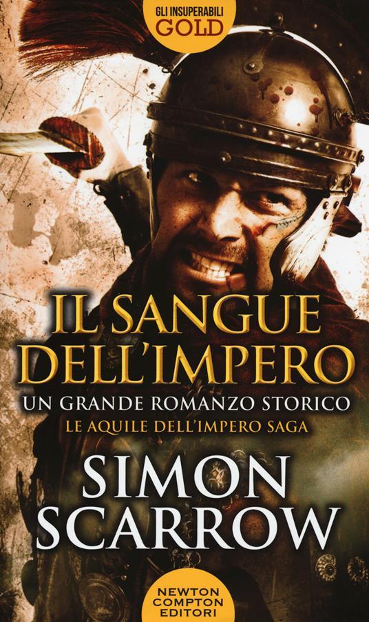 Il sangue dell'impero - Simon Scarrow - copertina