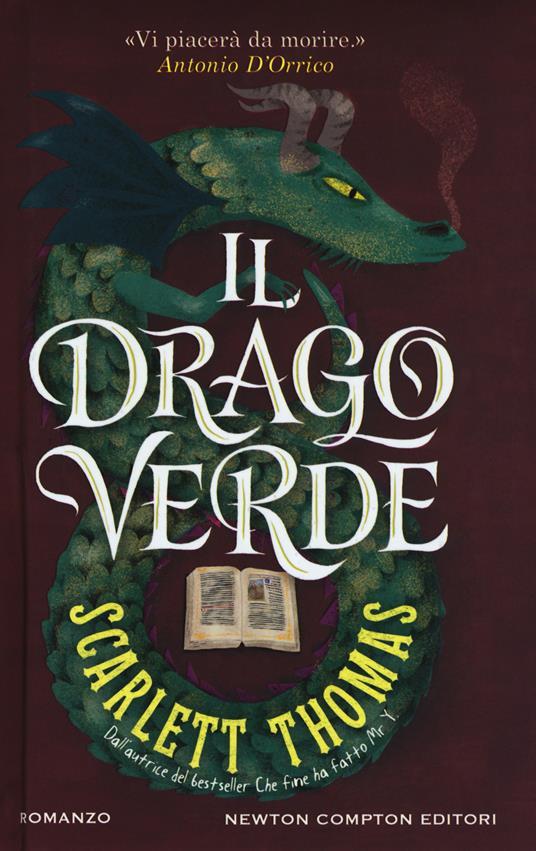 Il drago verde - Scarlett Thomas - copertina