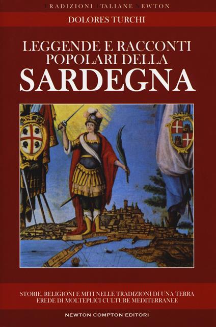 Leggende e racconti popolari della Sardegna - Dolores Turchi - copertina